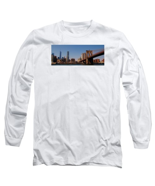Lower Manhattan Nyc Long Sleeve T-Shirt