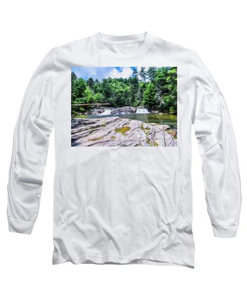 Lower Waterfall View Long Sleeve T-Shirt