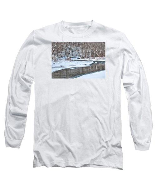 Loyalhanna Creek - Wat0100 Long Sleeve T-Shirt by G L Sarti
