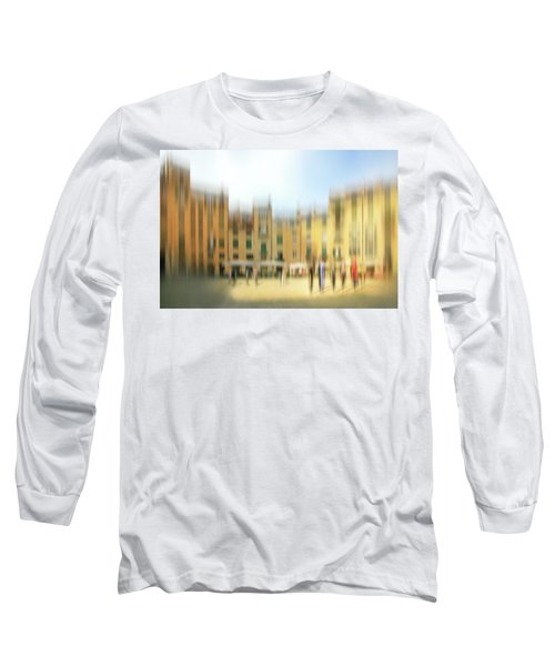 Lucca Ampitheatre Impression 1 Long Sleeve T-Shirt by Marty Garland