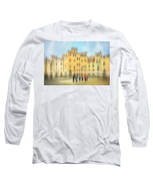 Lucca Ampitheatre Impression 2 Long Sleeve T-Shirt by Marty Garland