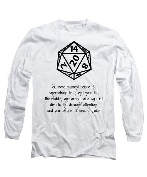 Lucky Escape Long Sleeve T-Shirt by Jon Munson II
