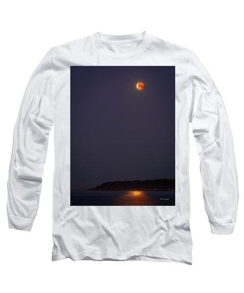 Lunar Eclipse - January 2018 Long Sleeve T-Shirt