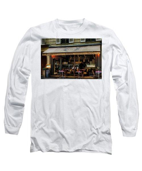 Lunch In Paris Long Sleeve T-Shirt