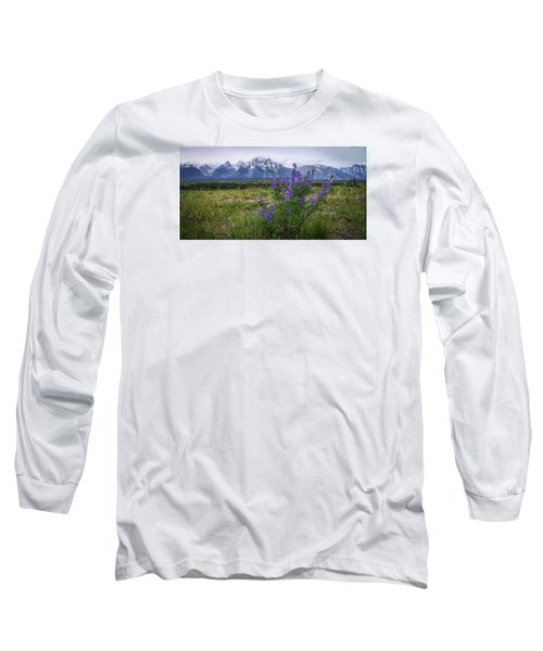 Lupine Beauty Long Sleeve T-Shirt by Chad Dutson