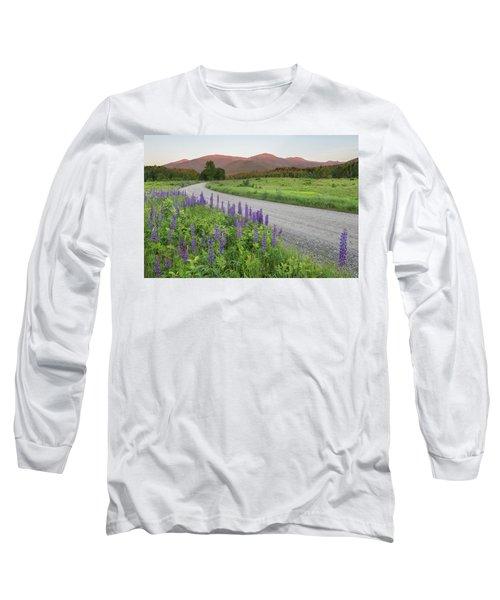 Lupine Sunset Road Long Sleeve T-Shirt