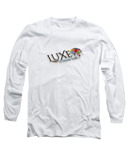 Luxe Logo 3d 2 Long Sleeve T-Shirt