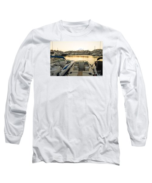 Luxury Yachts Puerto Banus Long Sleeve T-Shirt