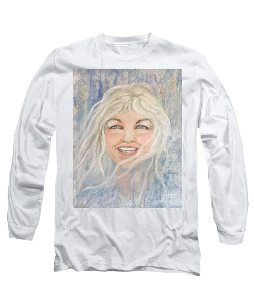 Lynnportrait Of A Young Woman  Long Sleeve T-Shirt