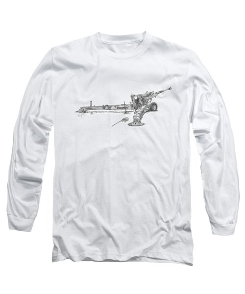 M198 Howitzer - Standard Size Prints Long Sleeve T-Shirt