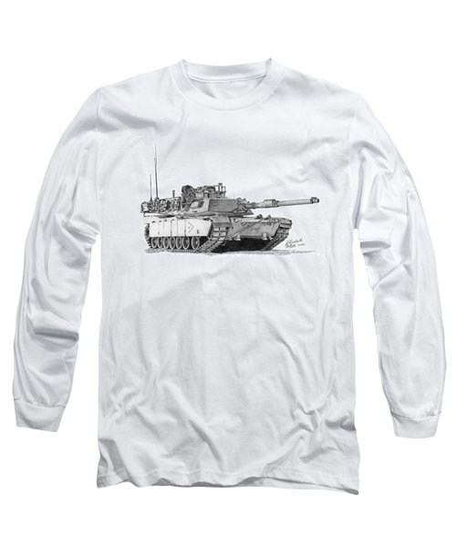 M1a1 B Company Xo Tank Long Sleeve T-Shirt
