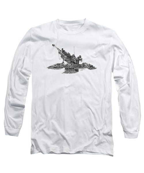 M777a1 Howitzer Long Sleeve T-Shirt
