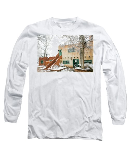 Long Sleeve T-Shirt featuring the photograph Mabel Dodge House 2 by Marilyn Hunt