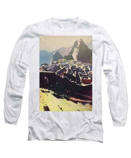 Machu Picchu Morning Long Sleeve T-Shirt