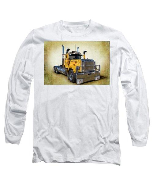 Mack Truck Long Sleeve T-Shirt by Keith Hawley