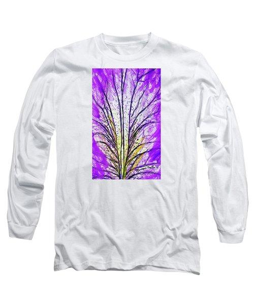 Macro Iris Petal Long Sleeve T-Shirt