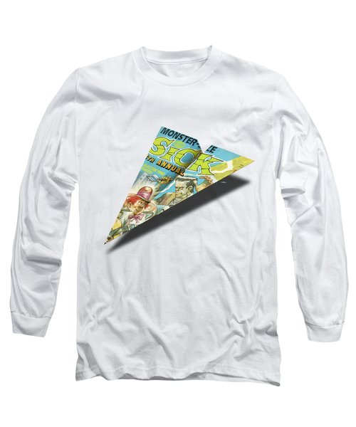 1973 Sick Mad Paper Airplanes Long Sleeve T-Shirt