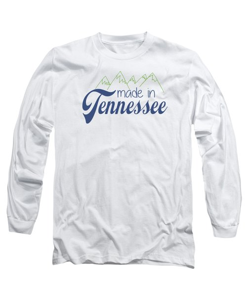 Made In Tennessee Blue Long Sleeve T-Shirt