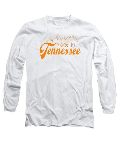 Made In Tennessee Orange Long Sleeve T-Shirt