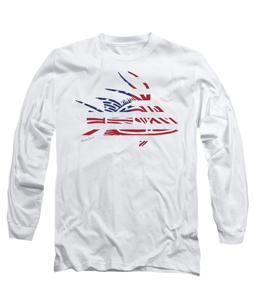 Made In The Usa Tribal Hogfish Long Sleeve T-Shirt