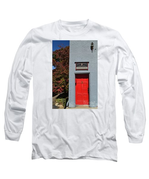Madison Red Fire House Door Long Sleeve T-Shirt