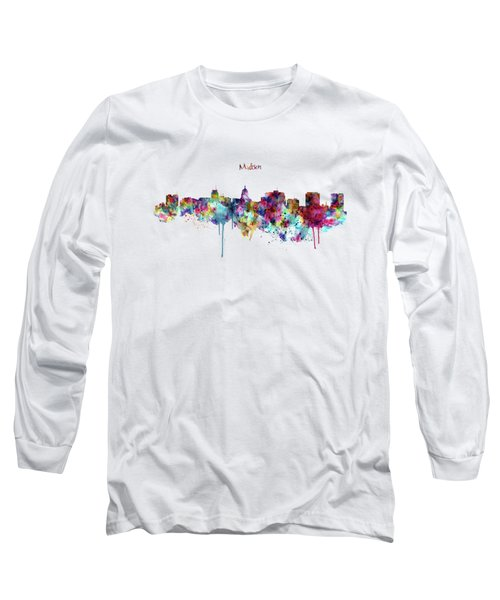 Madison Skyline Silhouette Long Sleeve T-Shirt