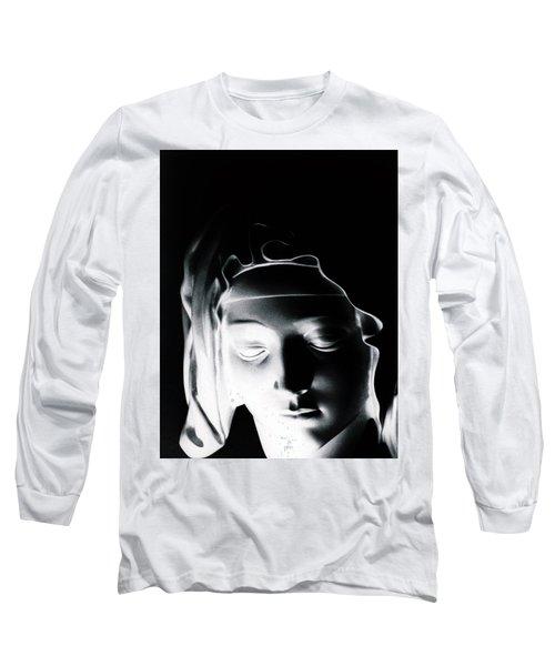 Madonna Long Sleeve T-Shirt by Joseph Frank Baraba