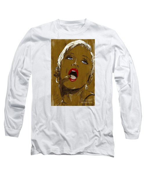 Madonna Long Sleeve T-Shirt by P J Lewis