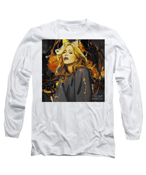 Madonna The Singer  Long Sleeve T-Shirt