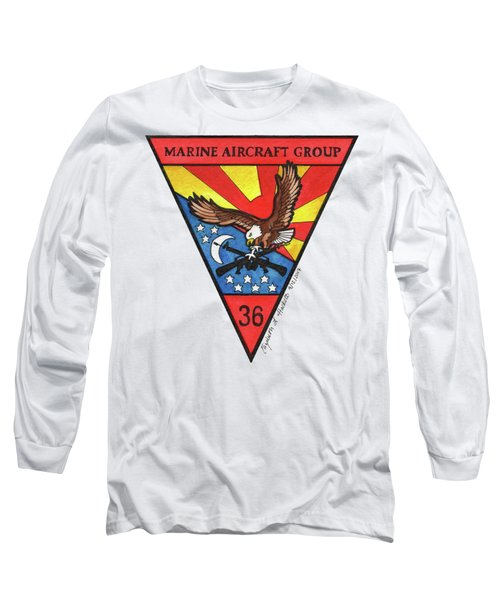 Mag-36 Patch Long Sleeve T-Shirt