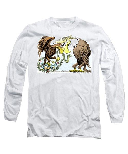 Maga Vs Mexico Long Sleeve T-Shirt