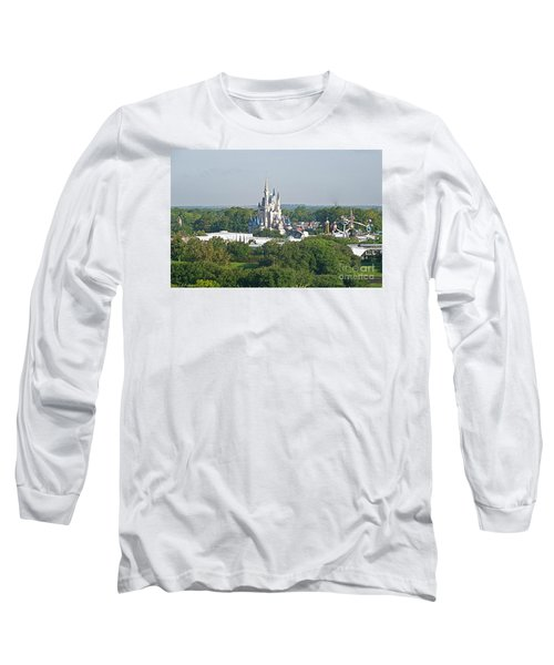 Long Sleeve T-Shirt featuring the photograph Magic Kingdom by Carol  Bradley
