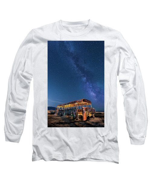 Magic Milky Way Bus Long Sleeve T-Shirt