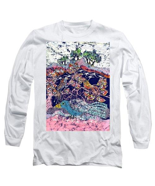 Magical Birds Long Sleeve T-Shirt
