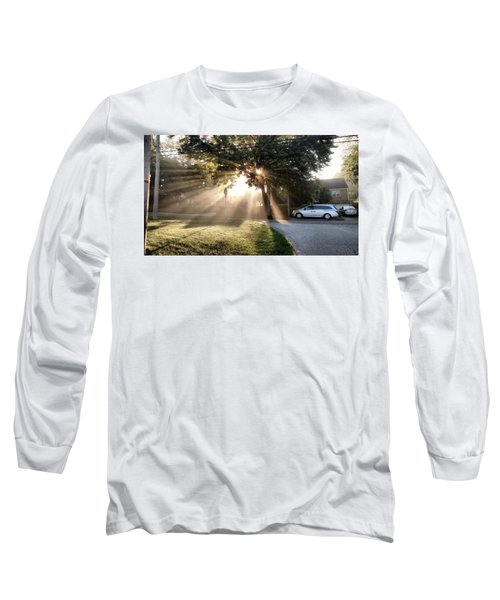 Long Sleeve T-Shirt featuring the painting Magical Morning by James Guentner