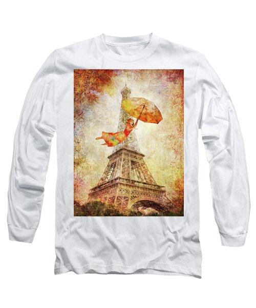 Magically Paris Long Sleeve T-Shirt