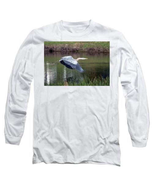 Magnificent Blue Long Sleeve T-Shirt