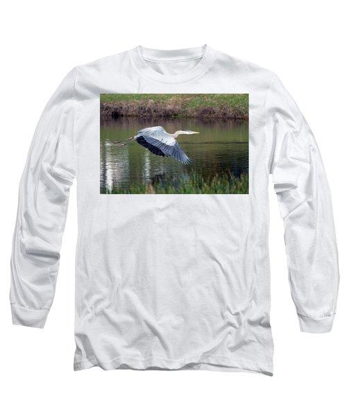 Magnificent Blue Long Sleeve T-Shirt