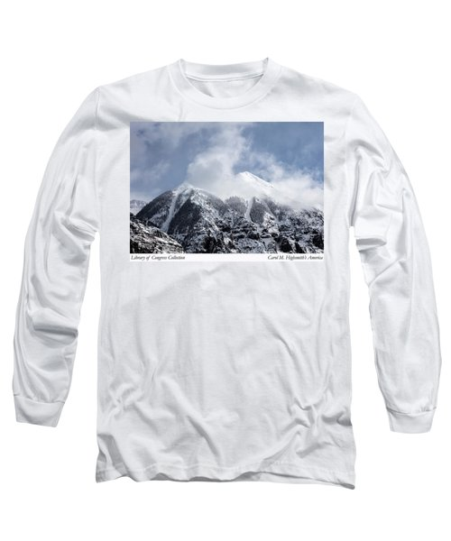Long Sleeve T-Shirt featuring the photograph Magnificent Mountains In Telluride In Colorado by Carol M Highsmith