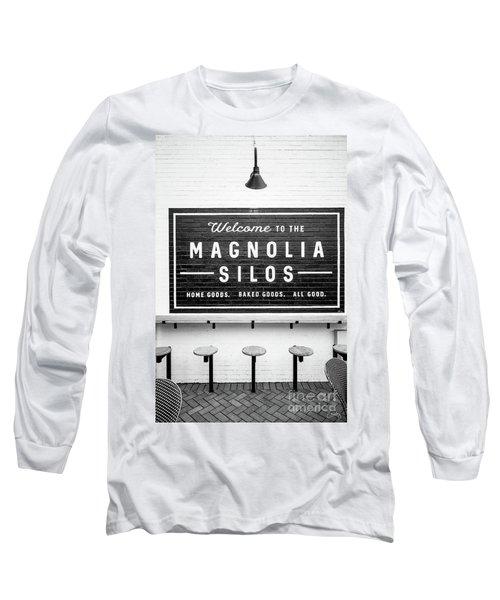 Magnolia Silos Baking Co. Long Sleeve T-Shirt