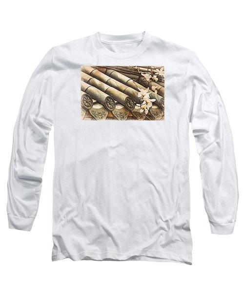 Magnolia Tiles Long Sleeve T-Shirt
