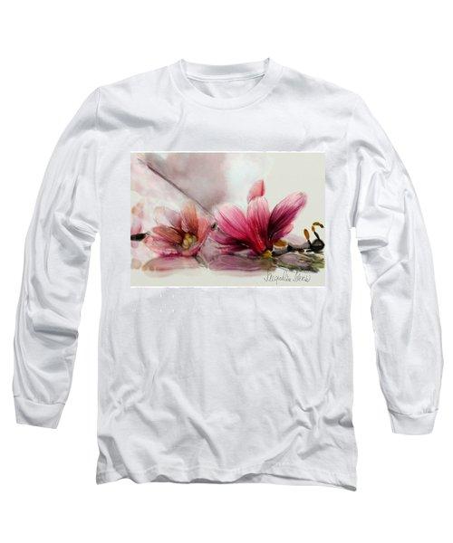 Magnolien .... Long Sleeve T-Shirt