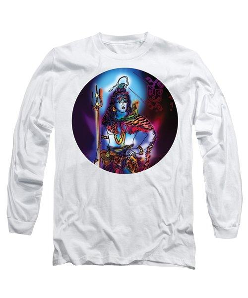 Maheshvara Shiva Long Sleeve T-Shirt