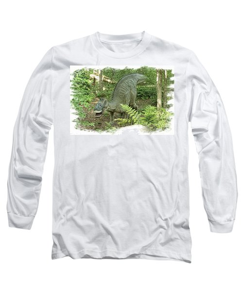 Maiasaura Poster Long Sleeve T-Shirt