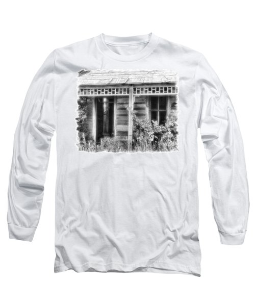 Long Sleeve T-Shirt featuring the photograph Maiden History 2 by Susan Kinney