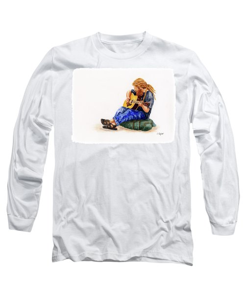 Main Street Minstrel 2 Long Sleeve T-Shirt