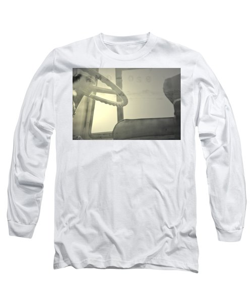 Long Sleeve T-Shirt featuring the photograph Maintenance  by Mark Ross