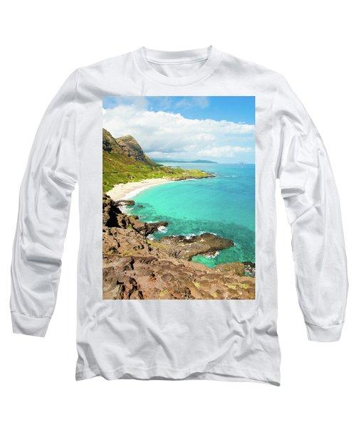 Makapu'u Beach Long Sleeve T-Shirt