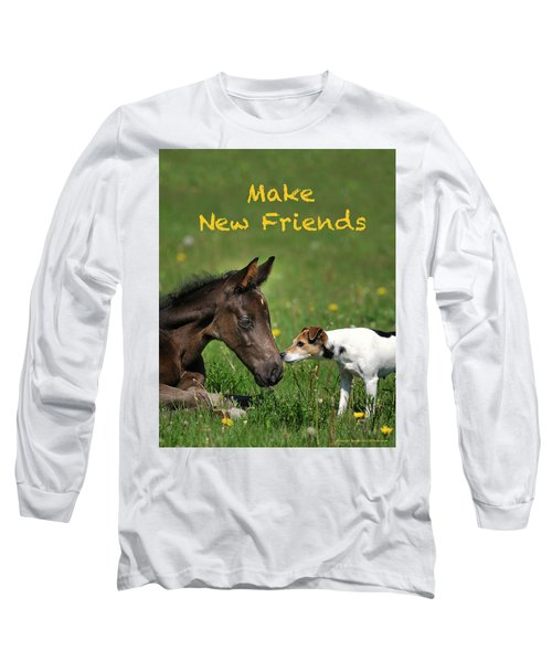 Make New Friends Long Sleeve T-Shirt
