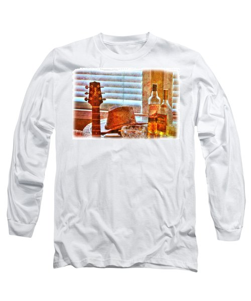 Making Music 002 Long Sleeve T-Shirt by Barry Jones